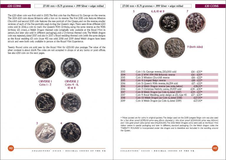 Collectors' Coins Decimal (UK) 2019